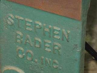 STEPHEN BADER BELT SANDER 3