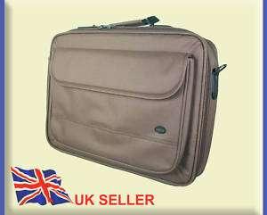 Ladies Brown Laptop Bag Netbook Case Fits 15 15.6 17