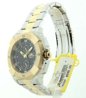 MENS INVICTA STAINLESS STEEL TWO TONE NEW WATCH 7299 843836072991