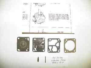 McCulloch Mini Mac Chain Saw K1 MDC Carburetor Repair Kit NEW