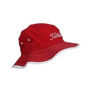 Titleist Bucket Hat   Red   Small/Medium: Sports