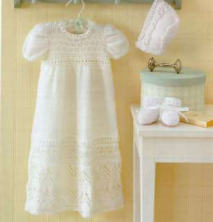 Free Knitting Pattern Baby Christening Gown : CHRISTENING GOWN PATTERNS KNITTED Free Knitting and Crochet Patterns