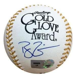 Ryan Zimmerman Autographed Rawlings Official Gold Glove Baseball   MLB