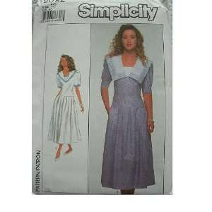 MISSES MISS PETITE DRESS SIZES 12 SIMPLICITY PATTERN 9092