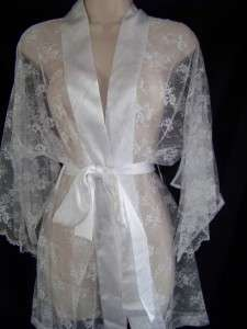 NWT Victorias Secret Bride Collection I Do Lace Robe Kimono OS