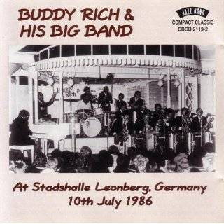 Leonberg, Germany 10th July 1986 by Buddy Rich & His Big Band