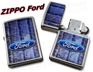 Zippo Ford Logo Street Chrome Lighter 28015 **NEW**