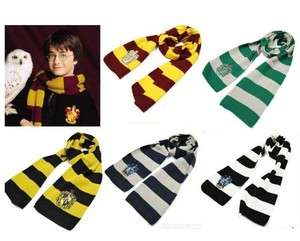 Harry Potter Scarf Costume Accessory Shawl Cosplay Neckwear 4 Color