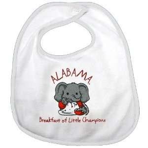 Alabama Crimson Tide White Breakfast of Little Champions