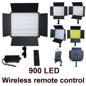 Photography Photo 900 Led Light with Wireless Remote Dimmer Control