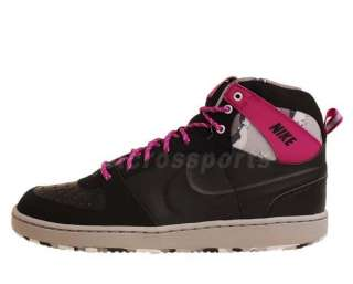 Nike Convention High JP Black Vivid Grape Grey 2012 Mens Casual Shoes