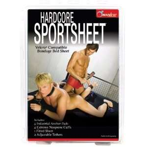 Manline Sportsheet W/Tethers Queen Health & Personal Care