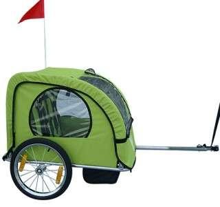 New Outdoor Green Single Kids Baby Bike Bicycle Trailer Journey