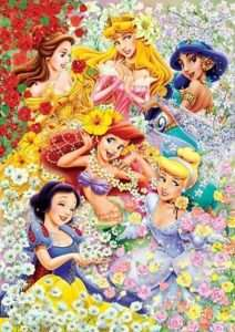 Japan Jigsaw Puzzle Tenyo Disney Princess DG 315 104