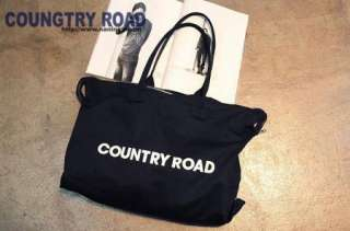 Country Road Take Me Home Korea New Fashion Women Canvas Big
