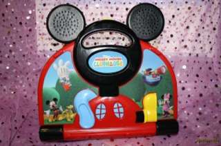 TECH DISNEY MICKEY MOUSE CLUBHOUSE MOUSEKADOER LAPTOP EDUCATIONAL