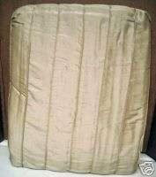 SUTTON PLACE CAFE CREAM CREME FABRIC SHOWER CURTAIN NEW