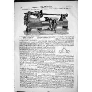 1883 Schischkar Harrison Universal Horizontal Boring Machine