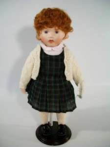 Ashton Drake Festival Toys Tots Molly Porcelain Doll
