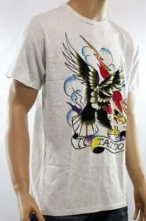 Brand New Ed Hardy Tattoo Eagle Basic Black T Shirt Tee