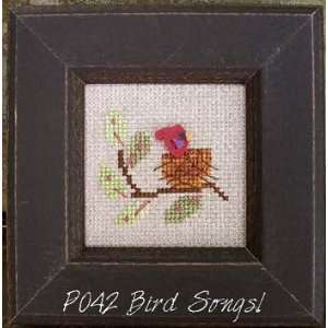 Our House Pearls   Bird Songs   Cross Stitch Pattern Arts