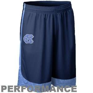 Tar Heels (UNC) Navy Blue Dri FIT Performance Training Shorts Sports