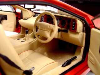 LOTUS ESPRIT V8 RED 118 AUTOART DIECAST MODEL