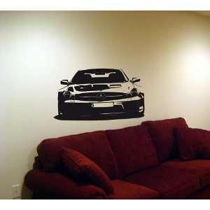 Wall MURAL Decal Sticker Car MERCEDES BENZ SL65 AMG 10