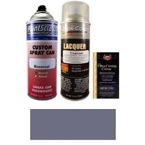 12.5 Oz. Purple Silver Metallic Spray Can Paint Kit for 1991 Nissan