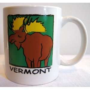 with Vermont Moose Artwork Designed By Mary Ellis