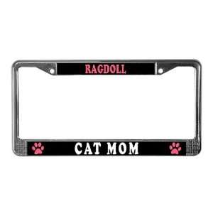Ragdoll Cats Pets License Plate Frame by