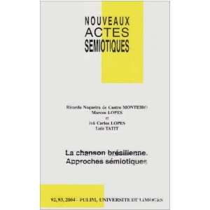bresilienne. approches semiotiques (9782842872908) Collectif Books