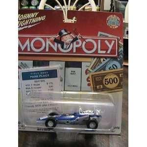 Lightning Monopoly Park Place 70 Indy Race Car