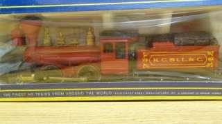AHM HO Scale 2 4 0 Bowker Locomotive K.C. ST. L & C