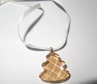 GENUINE SWAROVSKI CRYSTAL Mini Tree Christmas Ornament Retired New in
