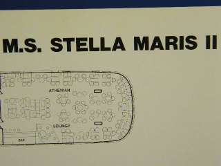 Deck Plan Sun Line Cruise Ship MS STELLA MARIS II