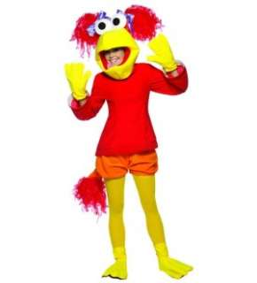 Fraggle Rock Red Costume Adult Standard New