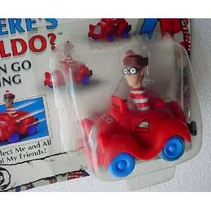 WHERES WALDO? Rev N Go Racing Car 1991 MATTEL Toys & Games