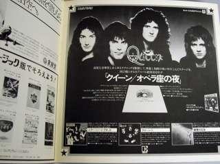 QUEEN Vintage Concert Program Book Japan Tour 1976 RARE