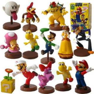 Nintendo Super Mario Bros Mini Figure Blind Packaging Case Of 13