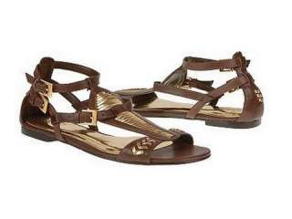 CARLOS SANTANA GILEAD SANDAL COFFEE WOMENS SHOES 8 M
