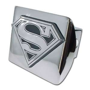 Superman Bright Polished Chrome with Chrome S 3D Emblem Trailer