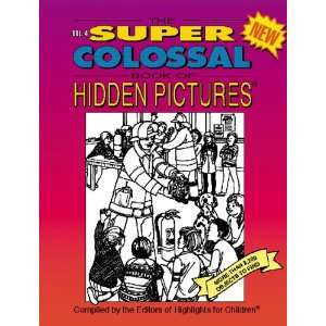 The Super Colossal Book of Hidden Pictures (Vol. 4