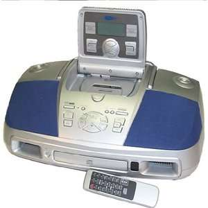 Curtis RCD253 Portable CD, Cassette, Radio with Pop Out