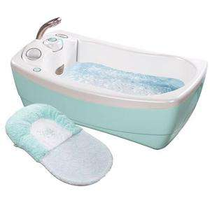 Infant 18033 LilLuxuries Whirlpool Bubbling Spa & Shower   Blue