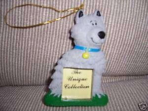 Christmas Ornament Resin Frame Fido Dog Great Stocking Stuffer