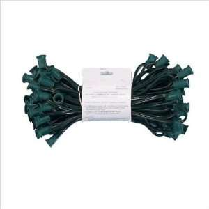 Orman Inc. STR7650 C7 16 Gauge Green Light String