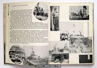 USS PITTSBURGH CA 72 MEDITERRANEAN CRUISE BOOK 1953 1954