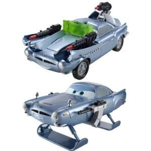 Disney Pixar Cars 2 Finn McMissile Vehicle Set Of 2: Toys & Games