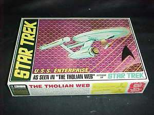 AMT Star Trek USS Enterprise Tholian Web plastic model kit #0695 NIB